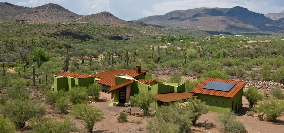 Solar-home-with-rammed-earth-walls_Cave-Creek_House